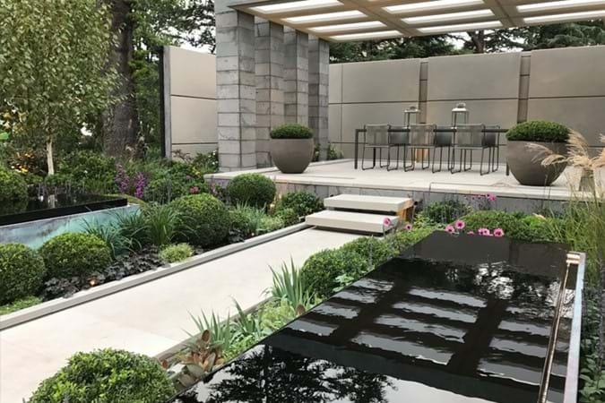 The Husqvana Garden by Charlie Albone won a Bronze Medal