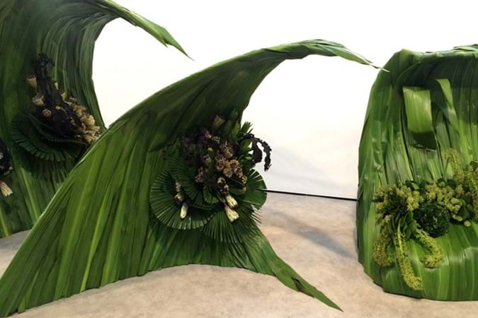 The Australian Floral Art Association display collected a Bronze Medal