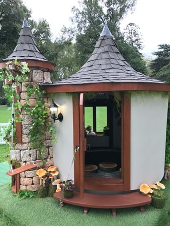 Medieval cubby house