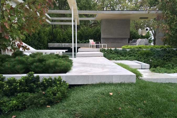 A Garden Called Frank designed by BLAC picked up a Gold Medal