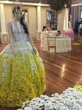 Incredible chrysanthemum display by Chrysco Flowers