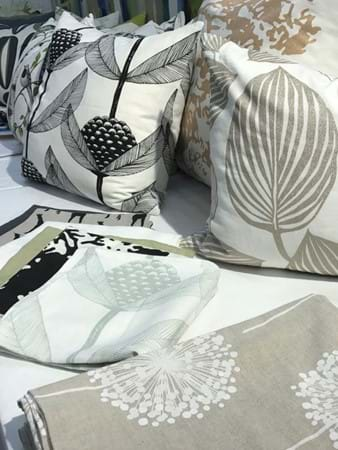 Nature inspired fabrics in Swedish designs by Alex & Elle