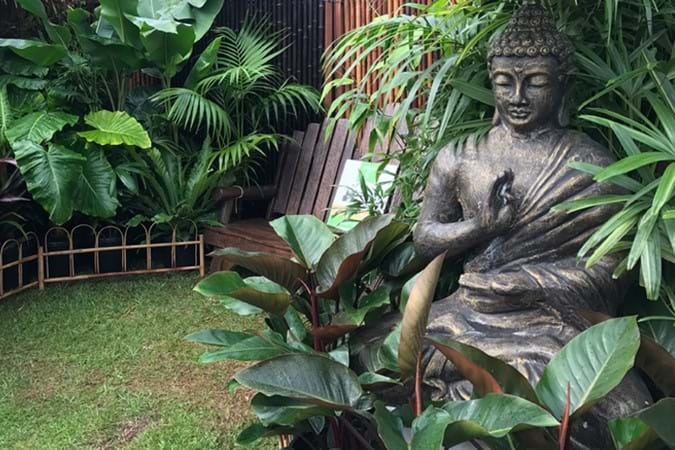 Bamboo Down Under's tranquil display garden