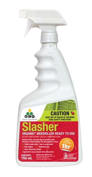 Slasher Organic Weedkiller 750ml RTU