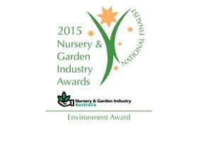 OCP Finalist for 2015 Nursery & Garden Industry Environment Award