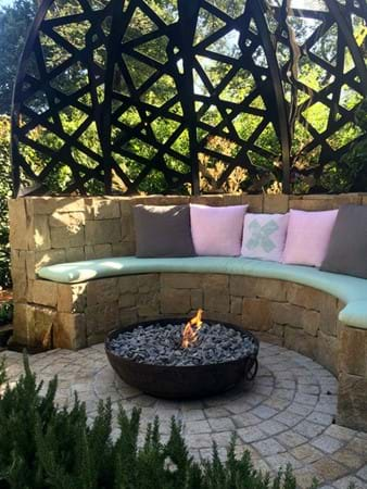 A Young Family display garden by In Style Gardens