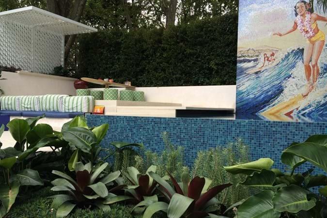 Ohana by Gloria Harper Landscape Design won a Silver Medal