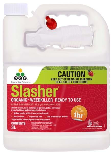 Slasher Organic Weedkiller 3L RTU