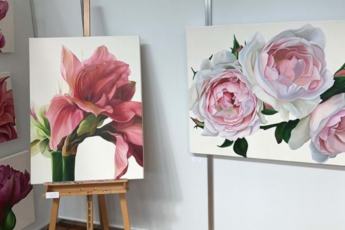 Stunning botanical artworks by Freya Powell
